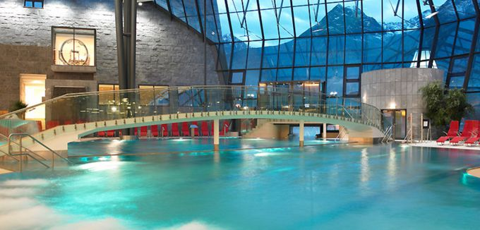 Tirol Therme Aqua Dome